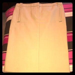 Khaki Colored Salvatore Ferragamo Pencil Skirt!